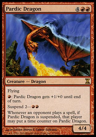 Pardic Dragon, Time Spiral