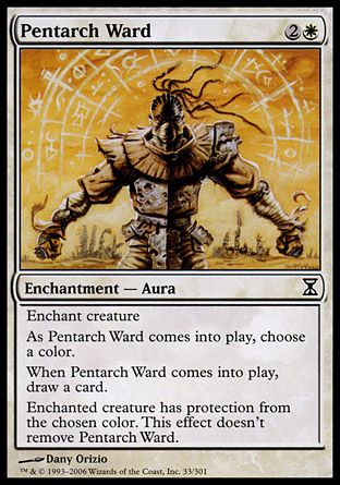 Pentarch Ward, Time Spiral