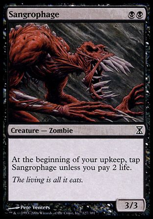 Sangrophage, Time Spiral