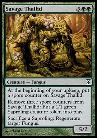 Savage Thallid, Time Spiral