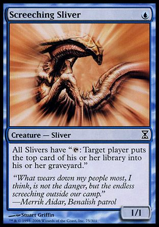 Screeching Sliver, Time Spiral