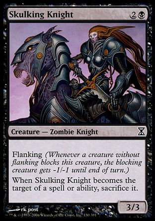 Skulking Knight, Time Spiral