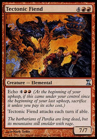 Tectonic Fiend, Time Spiral
