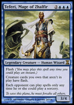 Teferi, Mage of Zhalfir, Time Spiral