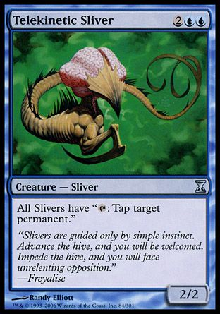 Telekinetic Sliver, Time Spiral