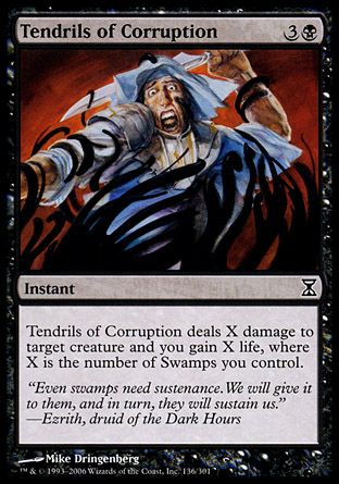 Tendrils of Corruption, Time Spiral