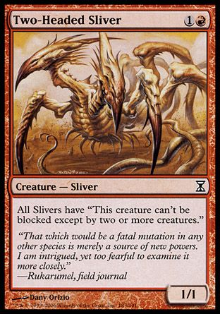 Two-Headed Sliver, Time Spiral