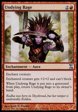 Undying Rage, Time Spiral
