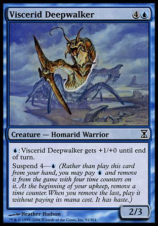 Viscerid Deepwalker, Time Spiral