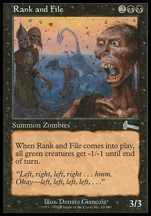 Rank and File, Urzas Legacy