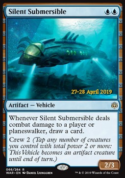 Silent Submersible, War of the Spark Extras