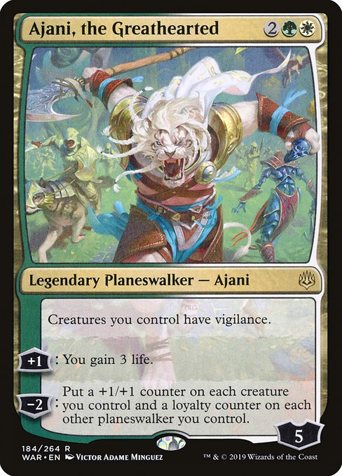 Ajani, the Greathearted, War of the Spark