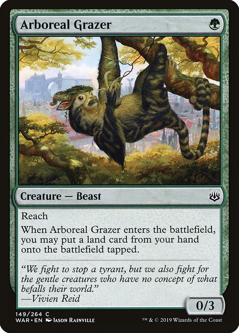 Arboreal Grazer, War of the Spark