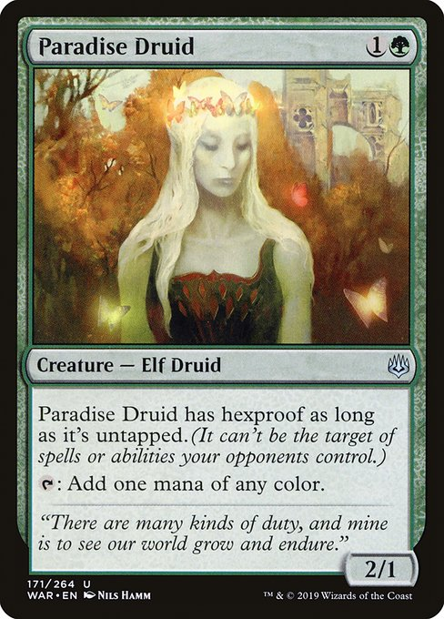 Paradise Druid, War of the Spark