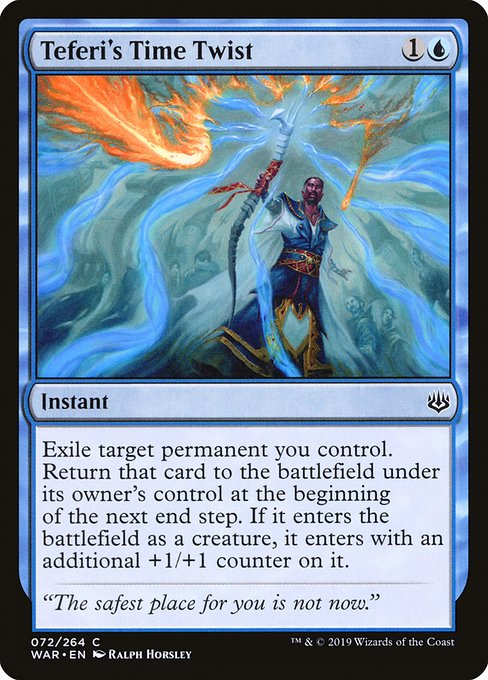 Teferi's Time Twist, War of the Spark