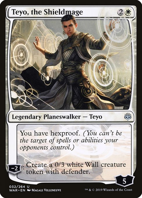 Teyo, the Shieldmage, War of the Spark