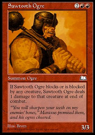 Sawtooth Ogre, Weatherlight