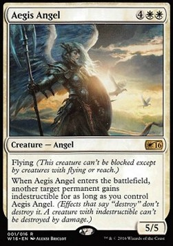 Aegis Angel, Welcome Deck 2016