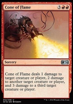 Cone of Flame, Welcome Deck 2016
