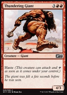 Thundering Giant, Welcome Deck 2017