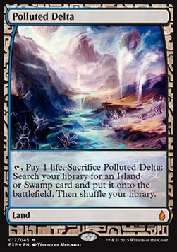 Polluted Delta, Zendikar Expeditions