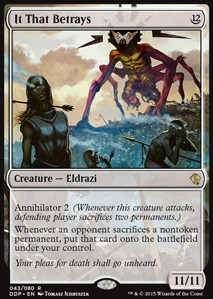 It That Betrays, Zendikar vs Eldrazi