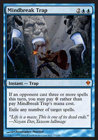Mindbreak Trap, Zendikar